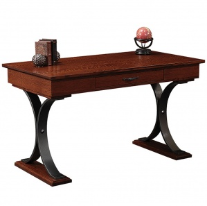 Dickens Writing Desk with Metal Base