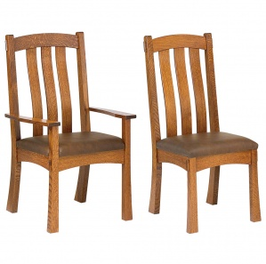 Del Mar Amish Dining Chairs