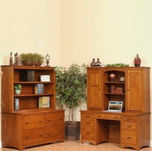 Prairie Mission Amish Desk Combo
