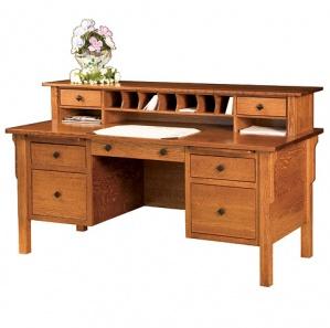 Glen Grove Amish Desk & Optional Hutch
