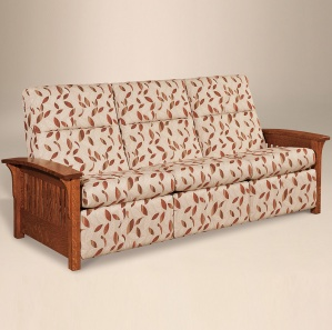 Avery Slat Sofa Recliner