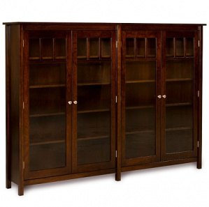 Marston House Double Bookcase