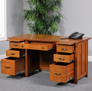 "Coventry 60"" & 72"" Amish Desks"
