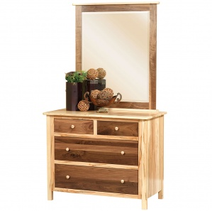 Sotheby Small Amish Dresser with Optional Mirror