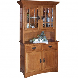 classic mission style dutch pantry dp hutch new