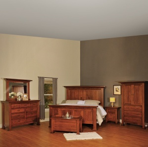 Empire Amish Bedroom Set