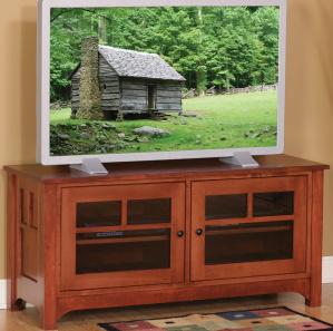 Laurel Cove Amish TV Console