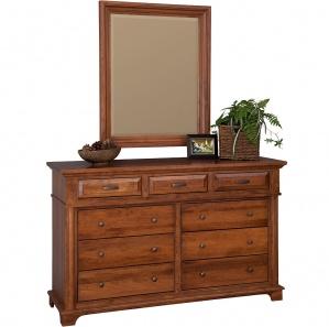 Lindenhurst Amish Dresser with Mirror Option