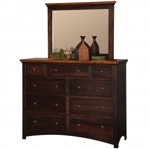 Brandywine 9 Drawer Dresser & Optional Mirror