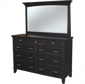 Plymouth 9 Drawer Dresser with Optional Mirror