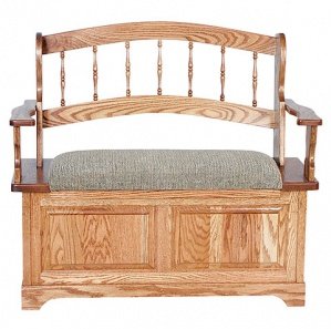 Country Spindle Amish Bench