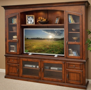 Bailey Amish Entertainment Center