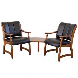 Haviland Corner Office Chair Grouping