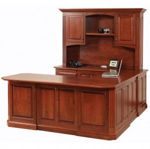 Buckingham U Shape Desk with Optional Hutch
