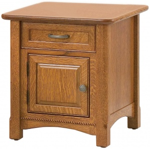 West Lake Amish End Table Cabinet