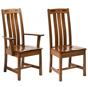Forest Hills Amish Dining Chairs