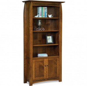 Boulder Creek Bookcase Cabinet