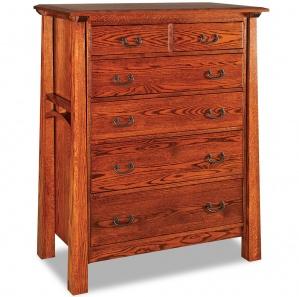 Artesa 6 Drawer Amish Dresser