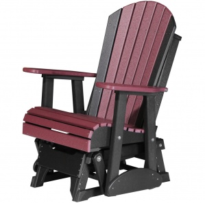 Champlain Poly Amish Outdoor Glider