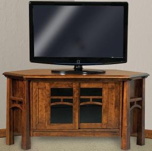 Artesa Corner Amish TV Cabinet