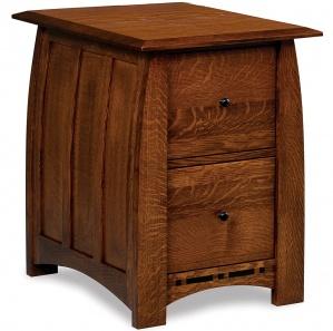 Boulder Creek 2 Drawer File Cabinet