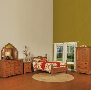 Heritage Hill Amish Bedroom Set