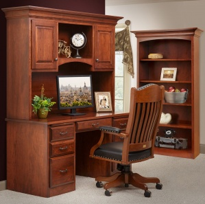 Hampton Amish Office Furniture Set