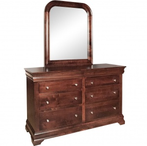 Karisma Amish Dresser with Mirror Option