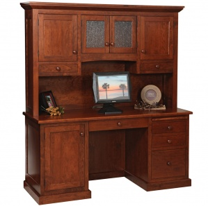 Homestead Amish Desk with Hutch Option
