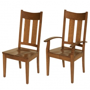 Lilac Amish Dining Chairs