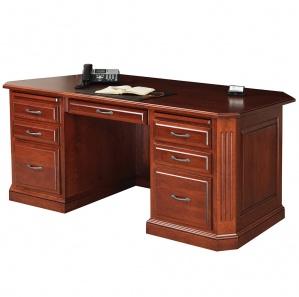 Buckingham Executive Desk with Optional Cubby