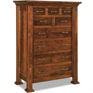 Empire 9 Drawer Amish Dresser