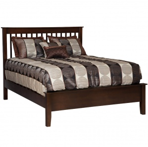 Shaker Spindle Amish Bed