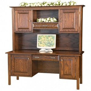 Charleston Desk/Credenza & Optional Hutch