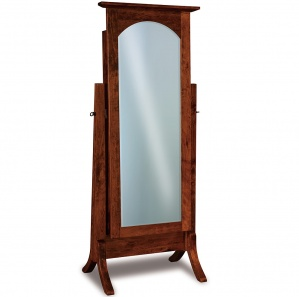 Artesa Amish Cheval Mirror & Optional Jewelry Storage