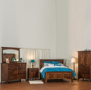 Summerfield Panel Amish Bedroom Set