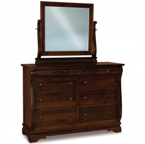 Fontaine Amish Dresser with Mirror Option