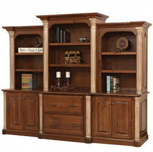 Jefferson Base with Amish Hutch Option
