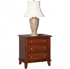 Soho Deluxe Amish Nightstand