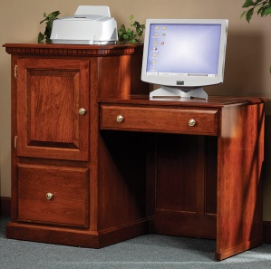 Heirwood 2 Level Computer Desk