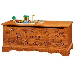 Oak Amish Toy Chest