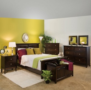 Crosby Row Amish Bedroom Furniture Set