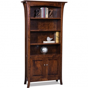 Ensenada Amish Bookcase Cabinet