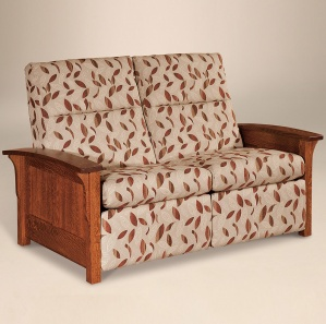 Avery Panel Loveseat Recliner