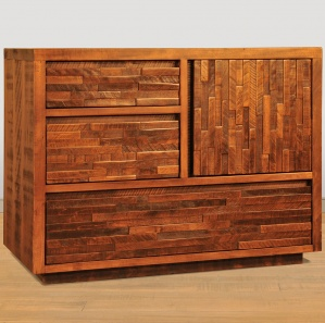 Ledge Rock Amish Chest of Drawers Cabinet