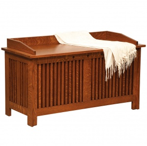 College Hill Amish Bedroom Blanket Chest & Bench
