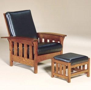 Dakota Slat Amish Morris Chair