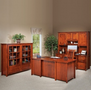 Shelton Amish Office Furniture Set