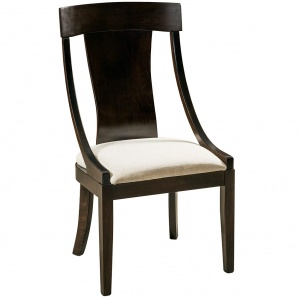 Silverton Curved Back Amish Dining Chairs