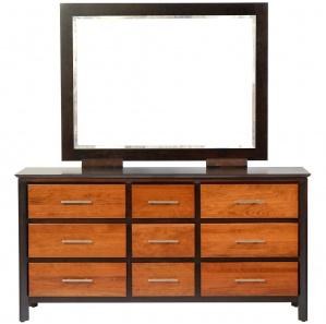 Zenith Amish Dresser with Mirror Option